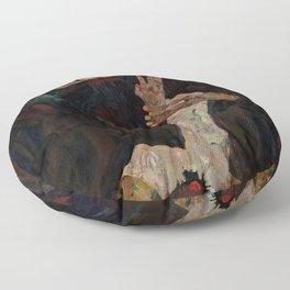 "Egon Schiele ""The Lyricist"" Floor Pillow"