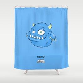 Bounceefluff Shower Curtain