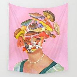 Mushroom Head Wall Tapestry
