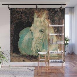 "Henri Toulouse-Lautrec - The White Horse ""Gazelle"" Wall Mural"