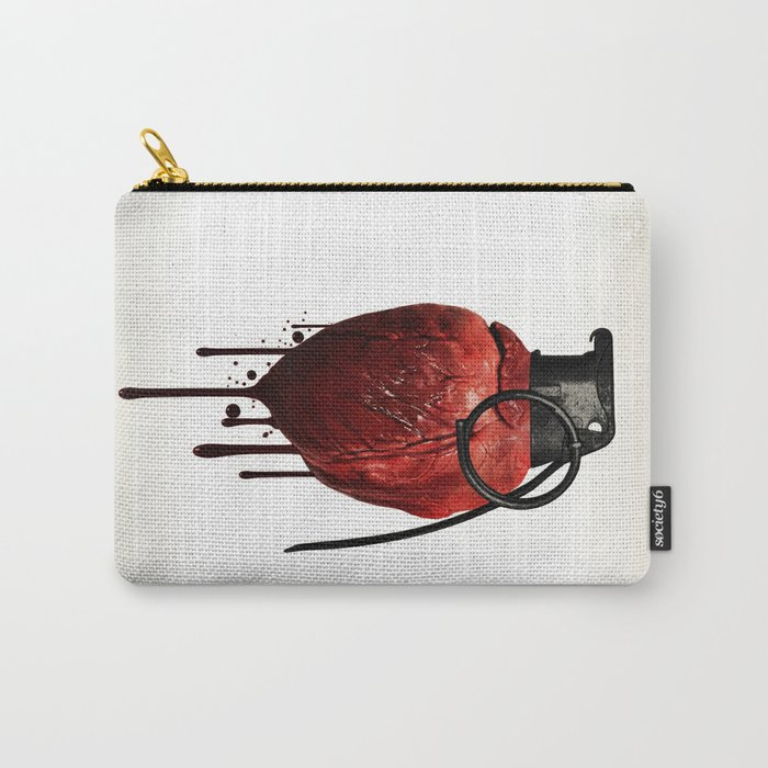 Heart Grenade Carry-All Pouch