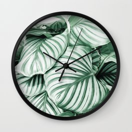 Long embrace Wall Clock