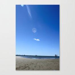 Blue Memory Canvas Print