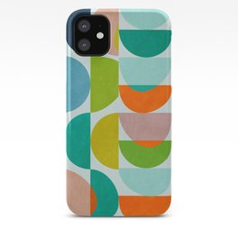 shapes abstract III iPhone Case