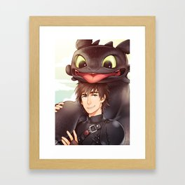 HTTYD2 Framed Art Print