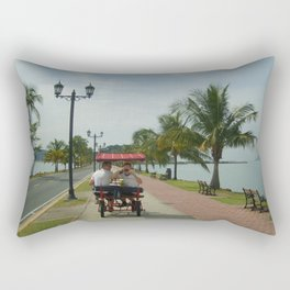Beach Bike Rectangular Pillow