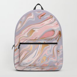 Marble and Gold 005 Backpack