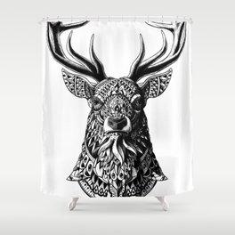 Ornate Buck Shower Curtain