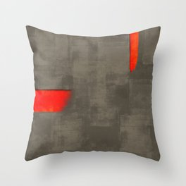 Gray theme #20 update Throw Pillow