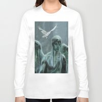 angel Long Sleeve T-shirts featuring Angel by Lucia