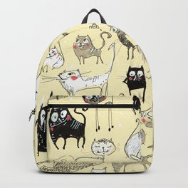 Cats of May Backpack