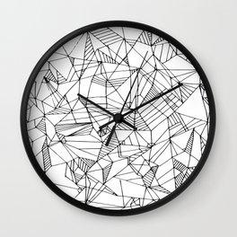 Abstract Lines- Abstract Art, Home Decor,Handmade Minimalist Prints, Digital Print,Art Pattern Print Wall Clock