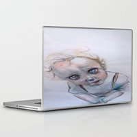 child Laptop & iPad Skins featuring Child by Haram Ahn