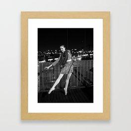 Julia New York Framed Art Print