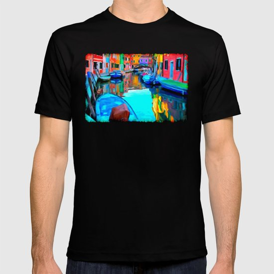 Colors In Venice - Painting Style T-shirt