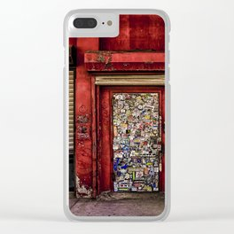 West Village Wall Clear iPhone Case