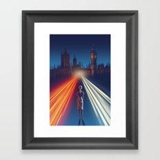 First Traffic Framed Art Print