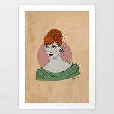 Mad Men / Joan Art Print