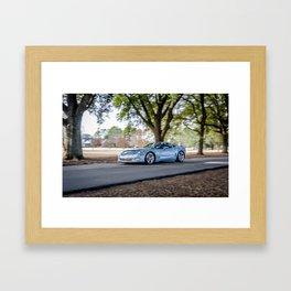 C6 Chevrolet Corvette Grand Sport Framed Art Print