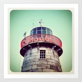 Lighthouse - Instagram Art Print
