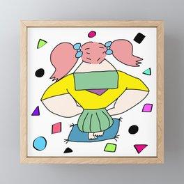 GIRL | Takahashi-chan Framed Mini Art Print
