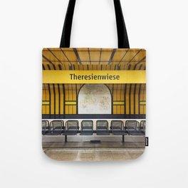 Munich U-Bahn Memories - Theresienwiese Tote Bag