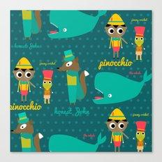 Pinocchio Canvas Print
