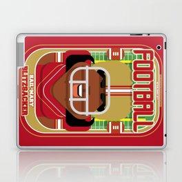 American Football Red and Gold - Hail-Mary Blitzsacker - Aretha version Laptop & iPad Skin