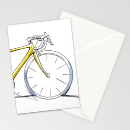Racing Road Bike Stationery Cards