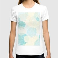 shells T-shirts featuring Shells by Karen Hischak