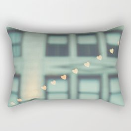 hearts. An Urban Romance No. 2 Rectangular Pillow