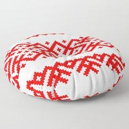 Pattern - Bogoroditsa - Slavic symbol Floor Pillow