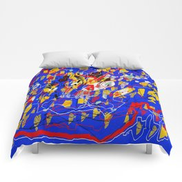 Mural abstract 5 Comforters