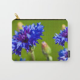 Blue cornflowers in summer Carry-All Pouch