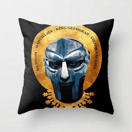 Saint DOOM Throw Pillow
