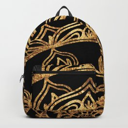 Gold Lace Sunrise Backpack
