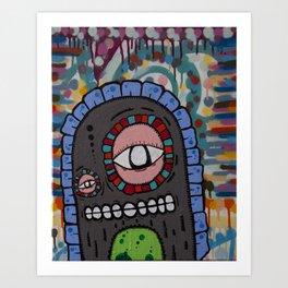 Couchmonsta Art Print
