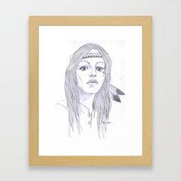 Gue Framed Art Print