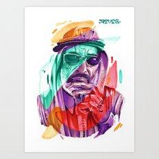 SAHEED Art Print