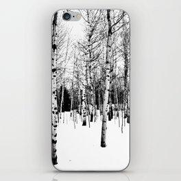 WhiteTrees iPhone Skin