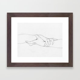 Untitled Hands No. 3 Framed Art Print