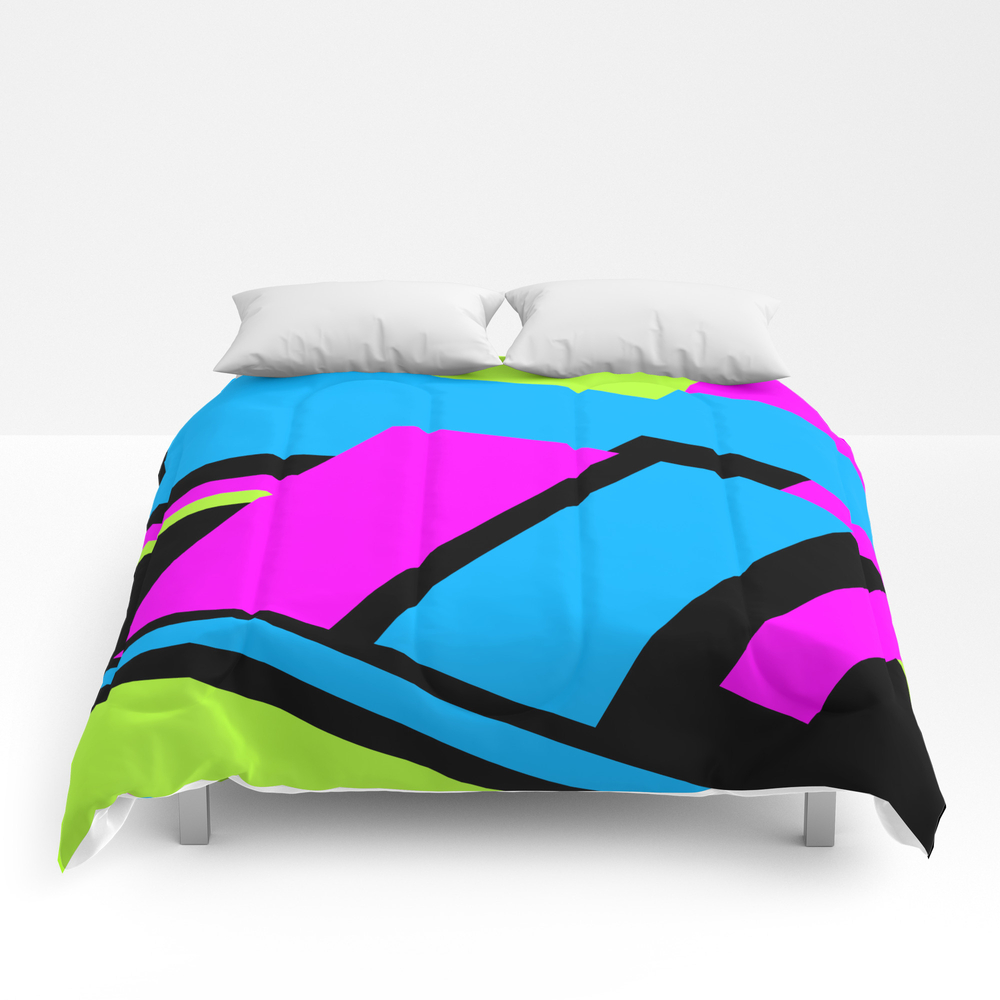 Active Colorblock Comforter by Underwatercity CMF8753878