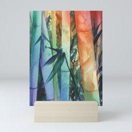 Kauai Rainbow Bamboo 2 Mini Art Print