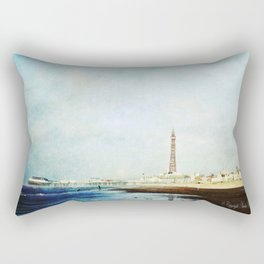 On The Front Textured Fine Art Photograpy Rectangular Pillow