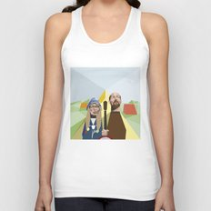 Nuts in May (West Country Gothic) Unisex Tank Top
