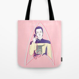 Unlimited Data Tote Bag