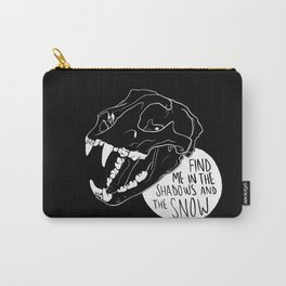 Lynx Skull Carry-All Pouch