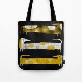 PATTERNED DACHSHUNDS Tote Bag