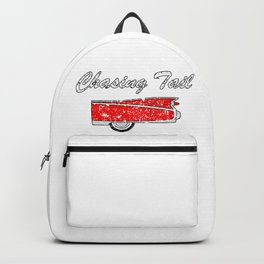 chasing tail classic car Backpack