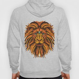 Abstract Lion Hoody